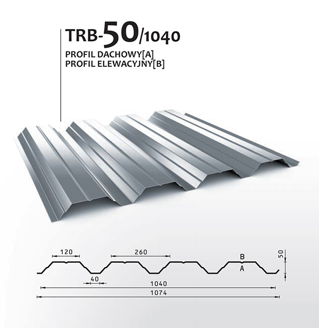 Modernistyczne Blacha trapezowa - DEKODACH - dachy, pokrycia dachowe,dachówki OM82